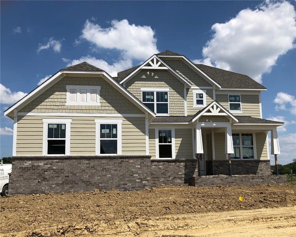 Photo of home for sale at 16101 Creeks Bend Court, Westfield IN