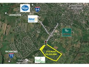 Property for sale at 2070 Boonesboro Road, Winchester,  Kentucky 40391