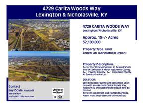 Property for sale at 4729 Carita Woods Way, Lexington,  Kentucky 40515