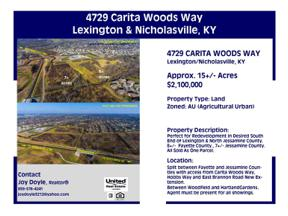 Property for sale at 4729 Carita Woods Way, Nicholasville,  Kentucky 40356