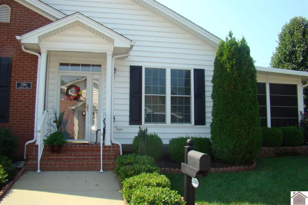Photo of home for sale at 2360 Lakewood Drive, Paducah KY