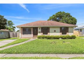 Property for sale at 3509 CALIFORNIA Avenue, Kenner,  LA 70065