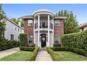 Property for sale at 1620 OLEANDER Street, Metairie,  LA 70001