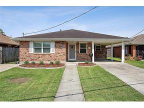 Property for sale at 3604 LIME Street, Metairie,  LA 70006