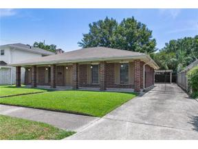 Property for sale at 4413 N TURNBULL Drive, Metairie,  LA 70002