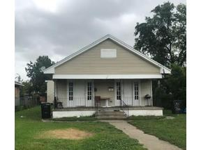 Property for sale at 2153 N ROCHEBLAVE Street, New Orleans,  Louisiana 70119