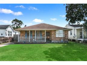 Property for sale at 3826 ROMAN Street, Metairie,  Louisiana 70001