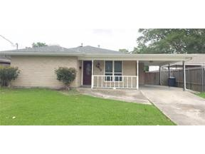 Property for sale at 1412 ROSE GARDEN Drive, Metairie,  LA 70005