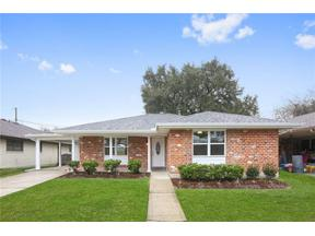 Property for sale at 1613 HALL Avenue, Metairie,  LA 70003
