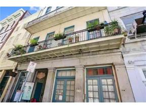 Property for sale at 210 CHARTRES Street 3E, New Orleans,  Louisiana 70130