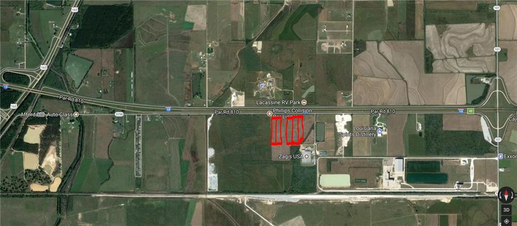 Photo of home for sale at Frontage Road S, Lacassine LA