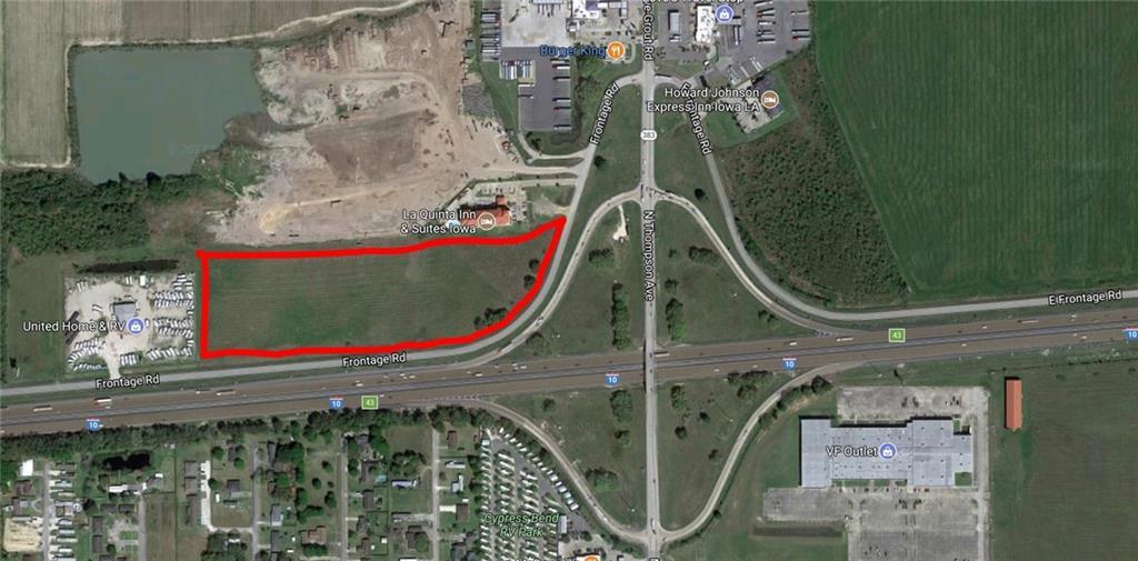 Photo of home for sale at I-10 Service Road, Iowa LA
