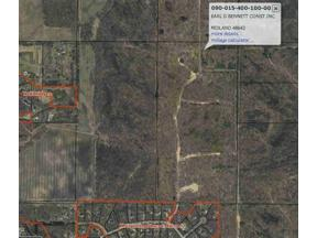 Property for sale at Lot 1 Coves, Midland,  Michigan 48640