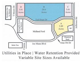 Property for sale at Joe Mann Blvd Parcel A, Midland,  Michigan 48642