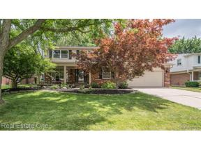 Property for sale at 3157 TAMARRON DR, Rochester Hills,  Michigan 48309