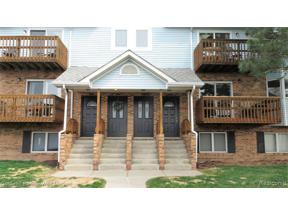Property for sale at 223 PINEWOOD CIR, Plymouth,  Michigan 48170