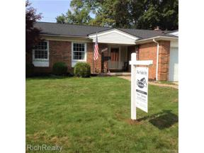 Property for sale at 14951 Robinwood DR DR, Plymouth,  Michigan 48170