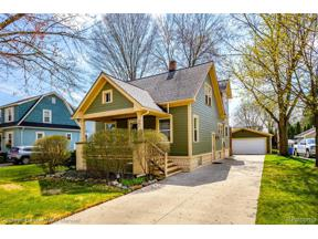 Property for sale at 881 ROSS ST, Plymouth,  Michigan 48170