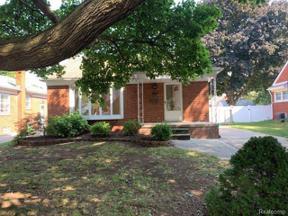 Property for sale at 16822 PHILOMENE BLVD, Allen Park,  Michigan 48101