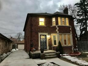 Property for sale at 3296 OAKMAN BLVD, Detroit,  Michigan 48238