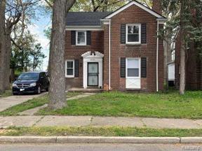 Property for sale at 18980 Pinehurst ST, Detroit,  Michigan 48324