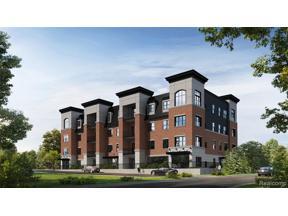Property for sale at 403 E WASHINGTON ST 109 109, Milford Vlg,  Michigan 48381