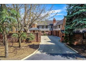 Property for sale at 490 E LONG LAKE RD, Bloomfield Hills,  Michigan 48304