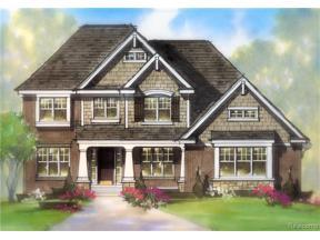 Property for sale at 22335 Diamond CRT, Farmington Hills,  Michigan 48335