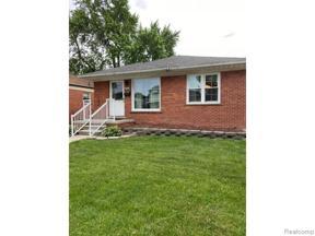 Property for sale at 15219 UNIVERSITY ST, Allen Park,  Michigan 48101
