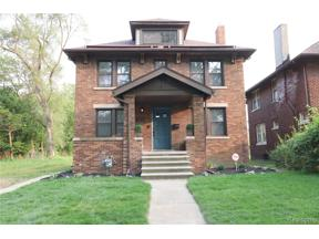 Property for sale at 2531 N LA SALLE, Detroit,  Michigan 48206