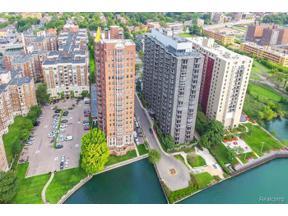 Property for sale at 8162 E JEFFERSON AVE  17B 17B, Detroit,  Michigan 48214