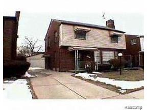 Property for sale at 16755 HEYDEN ST, Detroit,  Michigan 48219