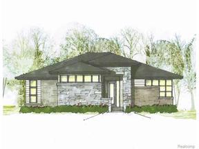 Property for sale at 49477 VILLA DR, Novi,  Michigan 48374