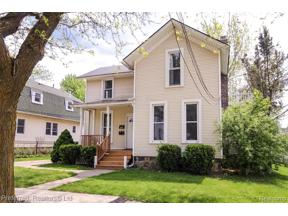 Property for sale at 410 BEAL ST, Northville,  Michigan 48167