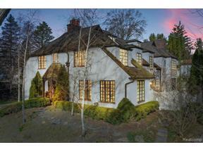 Property for sale at 1016 LAKE PARK DR, Birmingham,  Michigan 48009