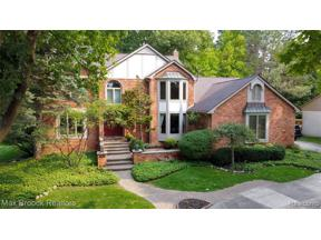 Property for sale at 2860 RIVER TRAIL DR, Rochester Hills,  Michigan 48309