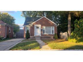 Property for sale at 14864 ANGELIQUE AVE, Allen Park,  Michigan 48101