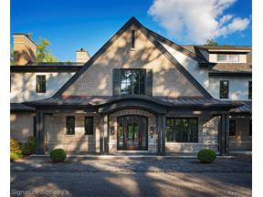 Property for sale at 800 CRANBROOK RD, Bloomfield Hills,  Michigan 48304