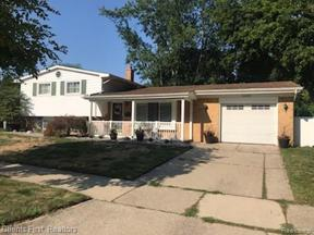 Property for sale at 14665 PARK ST, Livonia,  Michigan 48154