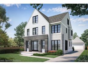 Property for sale at 1563 STANLEY BLVD, Birmingham,  Michigan 48009