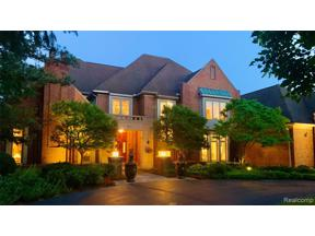 Property for sale at 1257 WATER CLIFF DR, Bloomfield Twp,  Michigan 48302