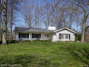 Property for sale at 1320 Woodland PLC, Plymouth,  Michigan 48170