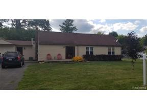 Property for sale at 24862 MOUNT OLIVE DR, Brownstown Twp,  Michigan 48134
