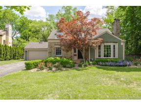 Property for sale at 1221 LATHAM ST, Birmingham,  Michigan 48009