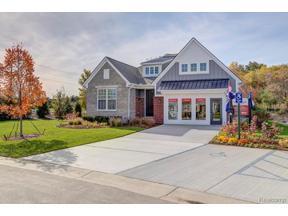 Property for sale at 17242 GARDEN RIDGE LN #39 #39, Northville,  Michigan 48168