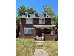 Property for sale at 1670 EDISON ST, Detroit,  Michigan 48206