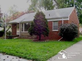 Property for sale at 6820 WINONA, Allen Park,  Michigan 48101