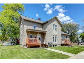 Property for sale at 486 Hamilton ST, Plymouth,  Michigan 48170