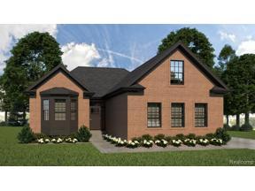 Property for sale at 33409 Capri Court, Livonia,  Michigan 48152