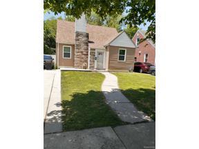 Property for sale at 14193 PIEDMONT ST, Detroit,  Michigan 48223